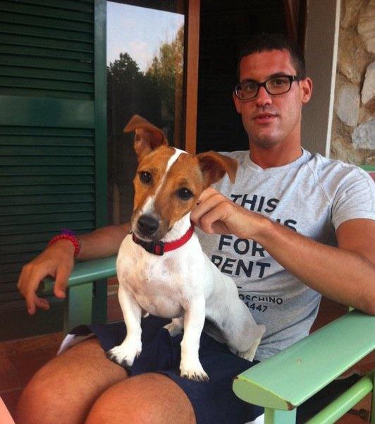 con Wendi, Elba 2011